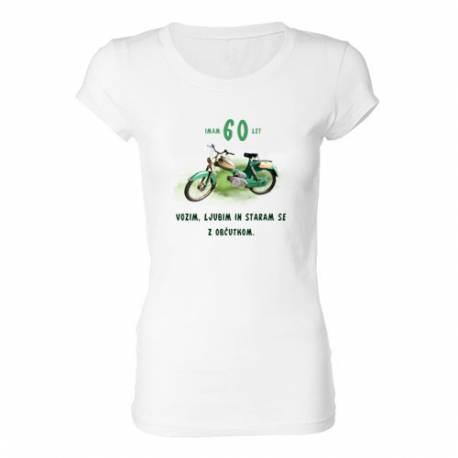 Ženska majica za 60 let, Motor