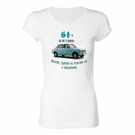 Ženska majica za 60 let, Zastava 101