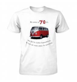 Majica za 70 let, Rdeč Vw kombi