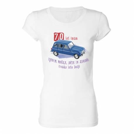 Ženska majica za 70 let, Katrca