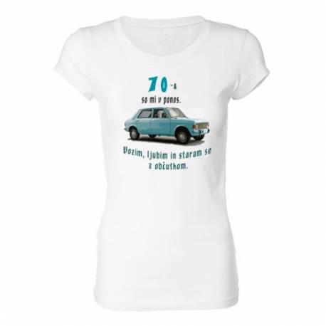 Ženska majica za 70 let, Zastava 101