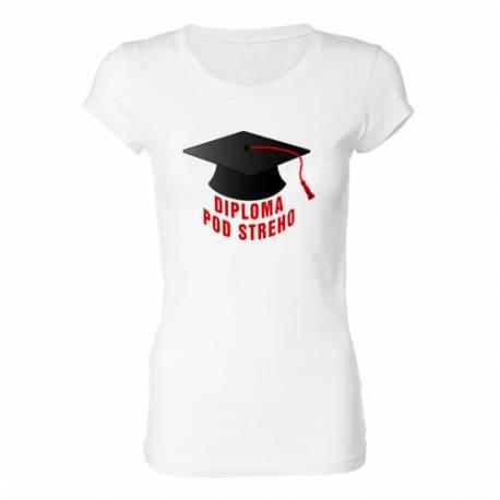 Ženska majica Diploma pod streho