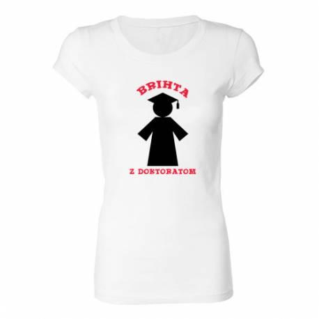 Ženska majica Brihta z doktoratom