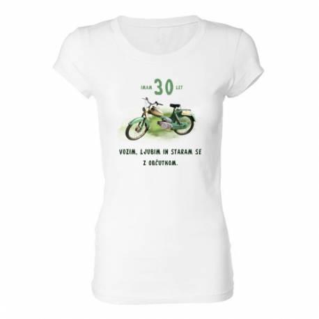 Ženska majica za 30 let, Motor z občutkom