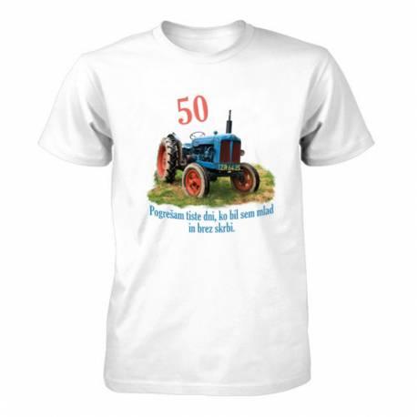 Majica za 50 let, Pogrešam tiste dni