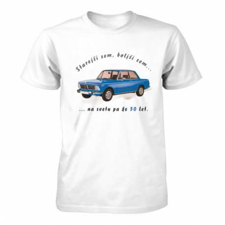 Majica za 50 let, Moder Bmw