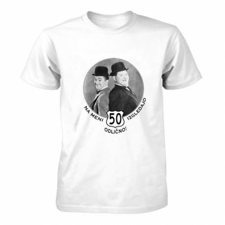 Majica za 50 let, Na meni izgledajo odlično