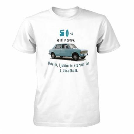 Majica za 50 let, 50ta so mi v ponos