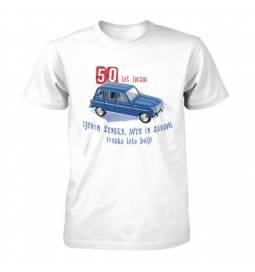 Majica za 50 let, Ljubim ženske, avte in zabavo