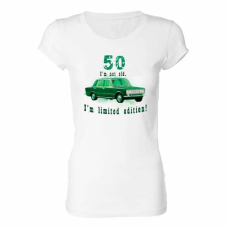 Ženska majica za 50 let, Omejena izdaja