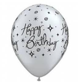Baloni za rojstni dan, Elegant Birthday, 10/1