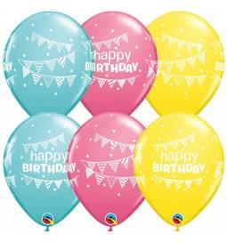 Baloni za rojstni dan, Birthday Zastavice