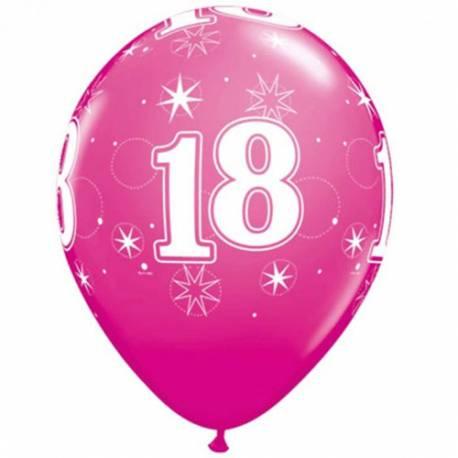 Pink Sparkle baloni za 18 rojstni dan, 25/1