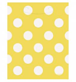 Celofan rumene vrečke s pikami