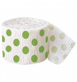 Krep trak z zelenimi pikami