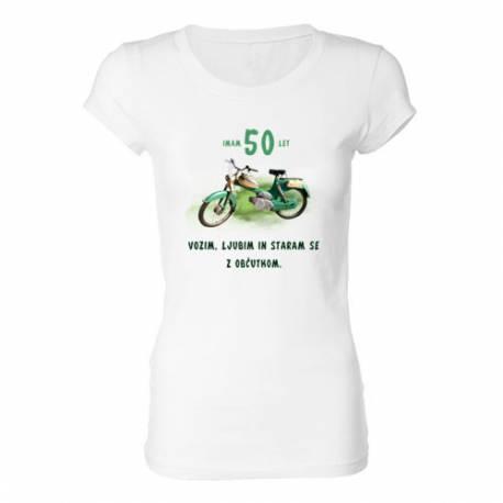 Ženska majica za 50 let, Motor z občutkom