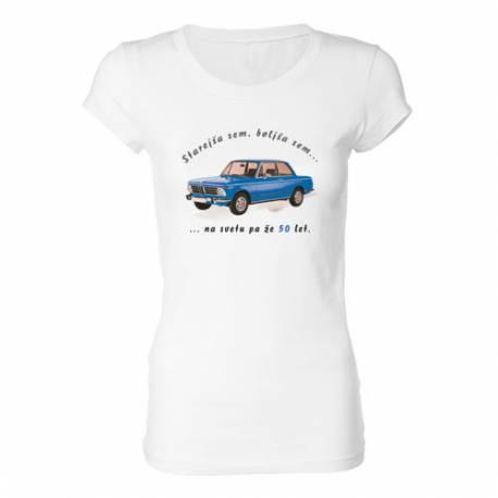 Ženska majica za 50 let, Na svetu pa že 50 let