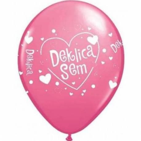 Baloni za rojstvo 10/1, Rose Deklica sem