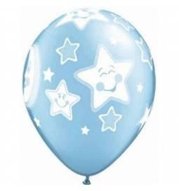 Baloni za rojstvo 25/1, Moder Baby Moon