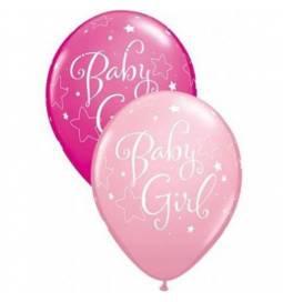 Baloni za rojstvo 10/1, Baby Girl Stars