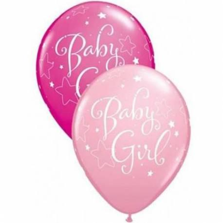 Baloni za rojstvo 25/1, Baby Girl Stars
