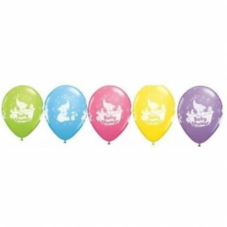 Baloni za rojstvo 10/1, Slončki Baby Shower