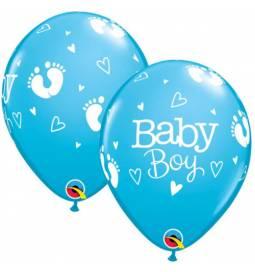 Baloni za rojstvo 25/1, Baby Boy Nogice
