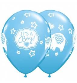 Baloni za rojstvo 10/1, Its a Boy slončki