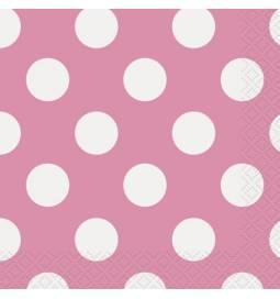 Serviete 25x25 cm, Pink s pikami