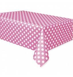 Pink prt z belimi pikami