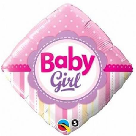 Balon za rojstvo, Baby Girl Dots