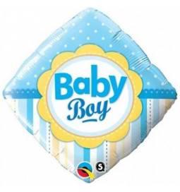 Balon za rojstvo, Baby Boy Dots