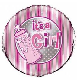 Balon za rojstvo, Girl Bottle