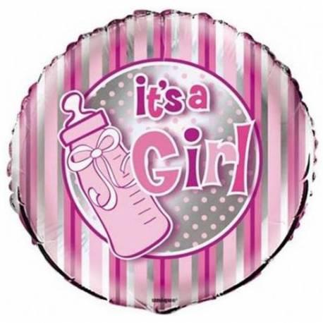 Balon za rojstvo, Girl Bottle