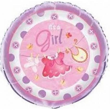 Balon za rojstvo, Pink oblekice