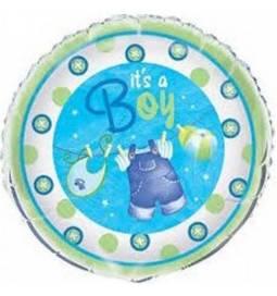 Balon za rojstvo, Modre oblekice