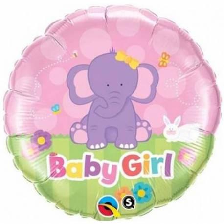 Balon za rojstvo, Roza slonček