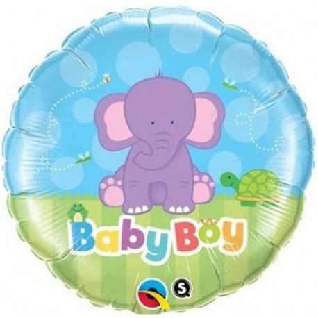 Balon za rojstvo, Moder slonček