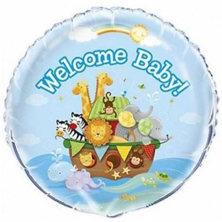 Balon za rojstvo, Welcome Baby Živali