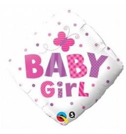 Balon za rojstvo, Baby Girl Metuljčki