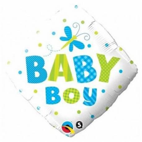Balon za rojstvo, Baby Boy Metuljčki