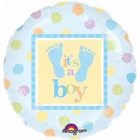 Balon za rojstvo, Its a Boy Nogice