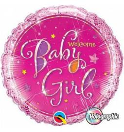 Balon za rojstvo, Baby Girl Stars