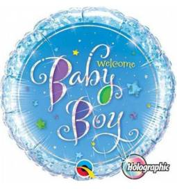 Balon za rojstvo, Baby Boy Stars