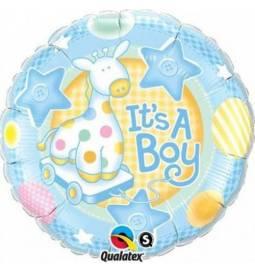 Balon za rojstvo, Boy Soft Giraffe