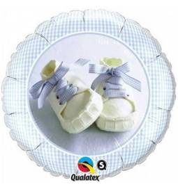 Balon za rojstvo, Baby Boy Shoes