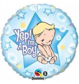 Balon za rojstvo, Yep! Fantek sem