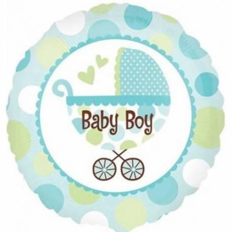 Balon za rojstvo, Baby Boy Buggy
