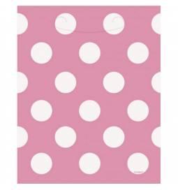 Pvc pink vrečke s pikami