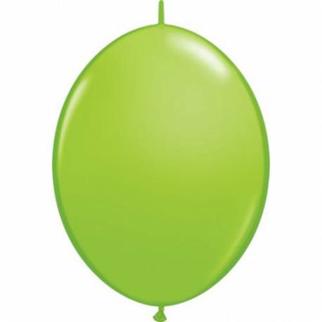 Svetlo zeleni veriga baloni 10/1